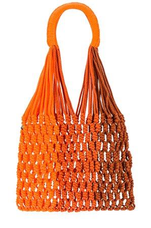 Nannacay Lupi Tote in Orange Multi | REVOLVE