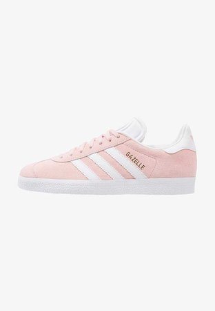 adidas Originals GAZELLE - Trainers - vapour pink/white/gold metallic - Zalando.co.uk Shoes