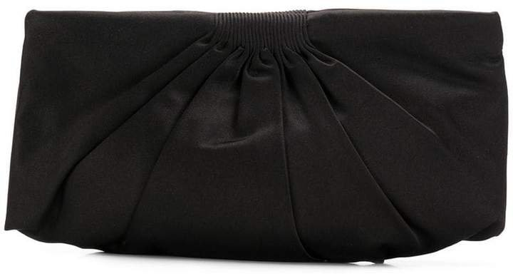 Pre-Owned draped clutch