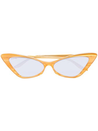 Gucci Eyewear Cat eye-solglasögon - Farfetch