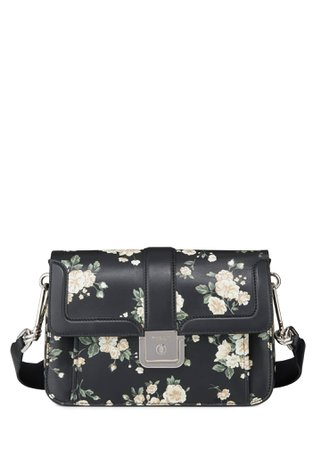 Michael Kors French Floral-Printed Crossbody Bag - Bergdorf Goodman
