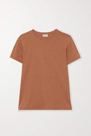 Net Sustain Boea Organic Cotton-jersey T-shirt - Brown