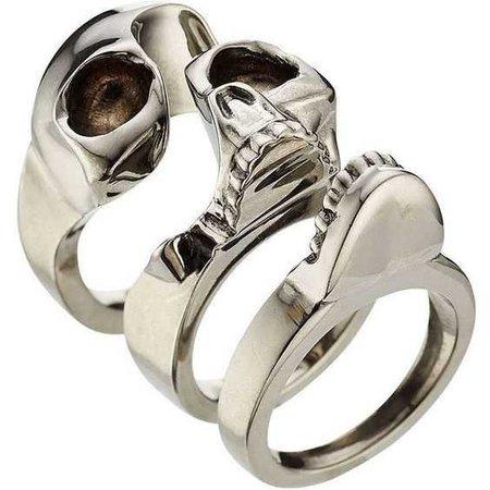 Alexander McQueen Skull Ring ($340)