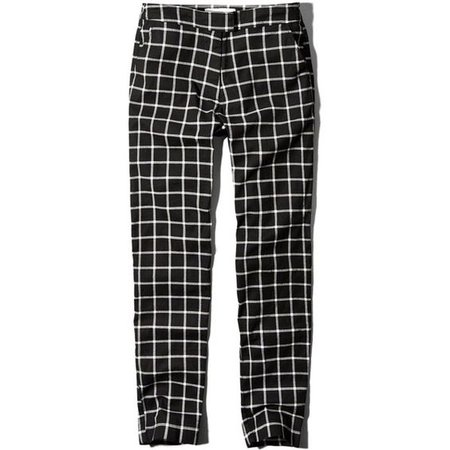 Abercrombie & Fitch Checked Skimmer Pants