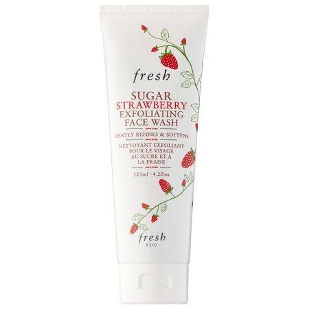 Sugar Strawberry Exfoliating Face Wash - Fresh | Sephora