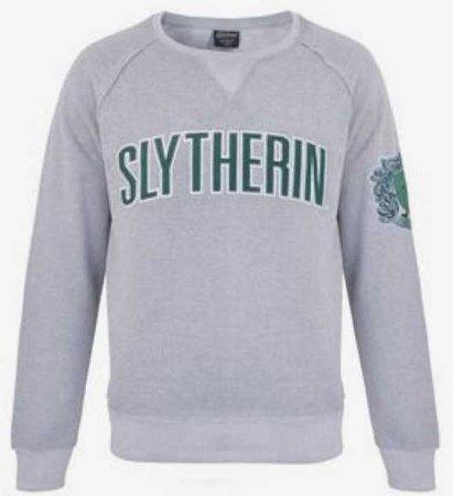 universal studios shop slytherin sweatshirt hoodie shirt green black dark forest top