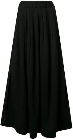 High Waisted Maxi Skirt
