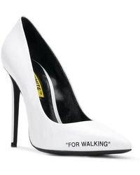 Off-White c/o Virgil Abloh Women's White High Heel Pumps By