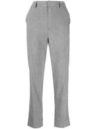GANNI straight-leg Tailored Trousers - Farfetch