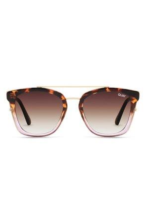 Quay Australia Sweet Dreams 51mm Square Sunglasses | Nordstrom