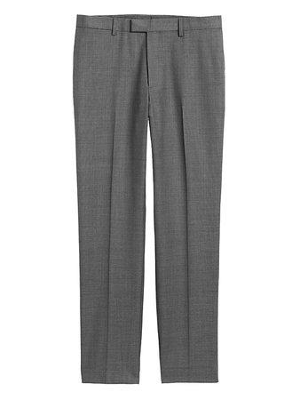 Slim Italian Sharkskin Suit Pant | Banana Republic