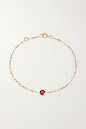 Rose gold 18-karat rose gold ruby bracelet | Anita Ko | NET-A-PORTER