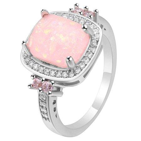 Elegant Rose Quartz Ring