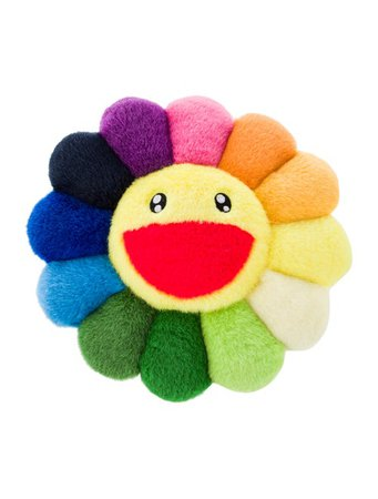 Throw Pillow Takashi Murakami Kaikai Kiki Flower Cushion - Kids Furniture & Accessories - PILLO20951 | The RealReal