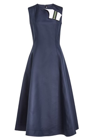 A-Line Dress in Cotton and Silk Gr. IT 42