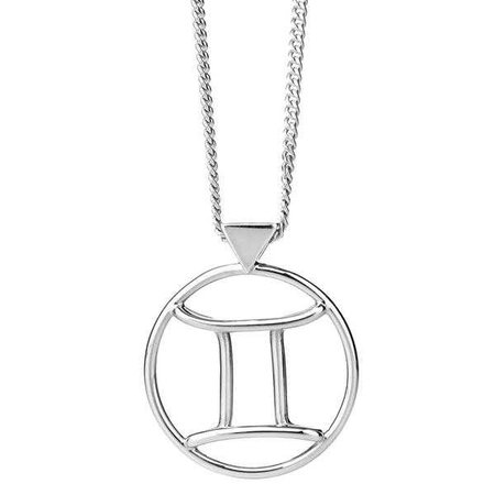 Karen Walker Gemini Necklace - Sterling Silver – Walker & Hall