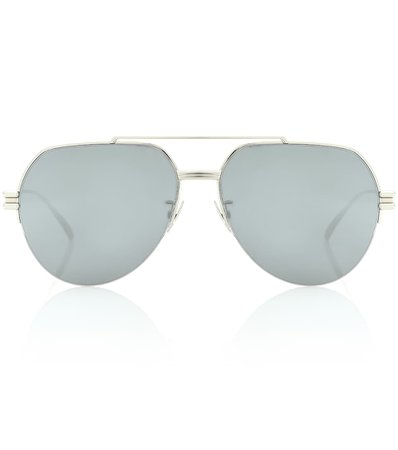 Aviator Sunglasses | Bottega Veneta - Mytheresa
