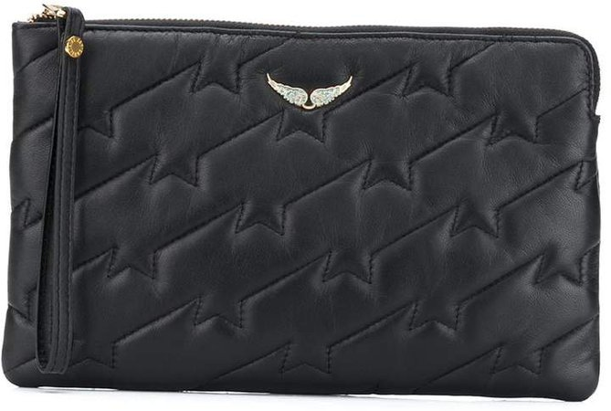 Quilted Zip-Top Pouch