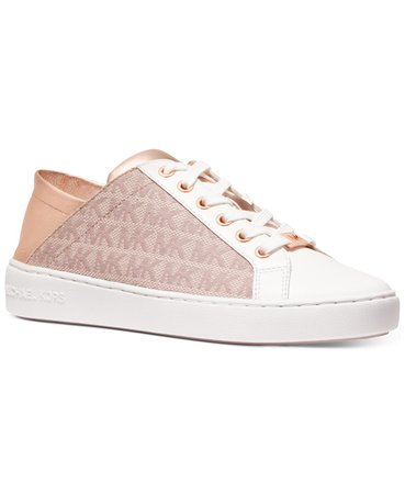 Michael Kors Bailee Sneakers & Reviews - Athletic Shoes & Sneakers - Shoes - Macy's white