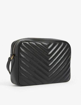 SAINT LAURENT - Lou leather camera bag | Selfridges.com