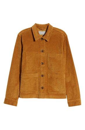 Everlane Corduroy Chore Jacket brown