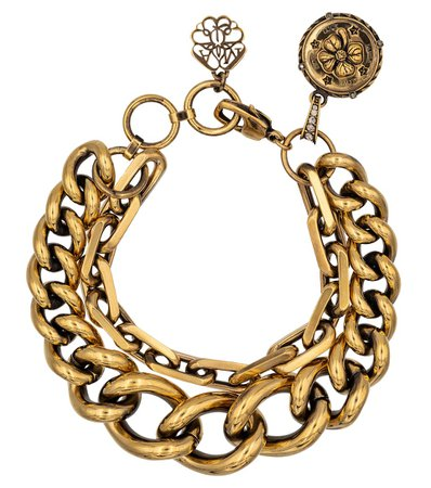 Alexander McQueen - Chain bracelet | Mytheresa