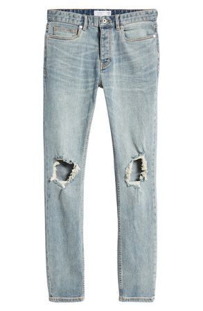 Polly Blowout Ripped Skinny Fit Jeans | Nordstrom