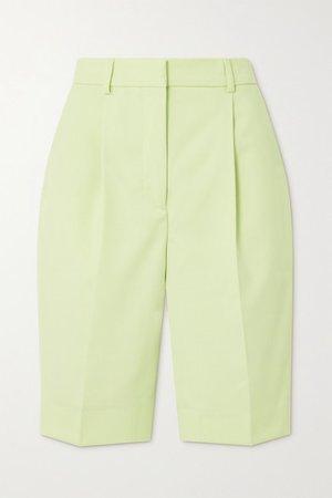 Woven Shorts - Pastel yellow