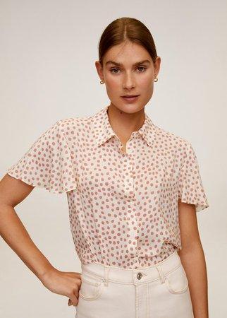 Floral print blouse - Women   Mango USA