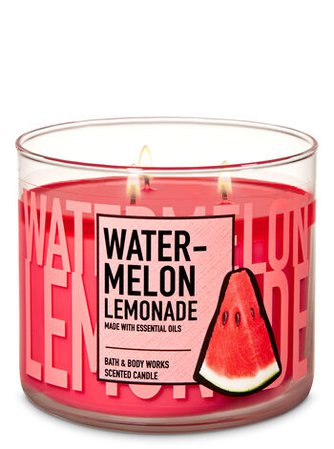 Watermelon Lemonade 3-Wick Candle | Bath & Body Works
