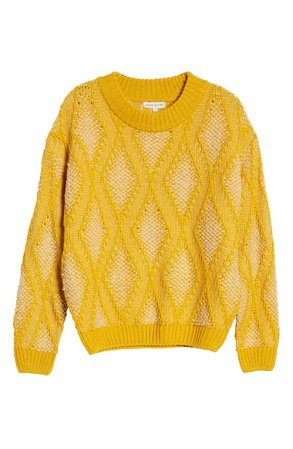 MOON RIVER Patterned Sweater
