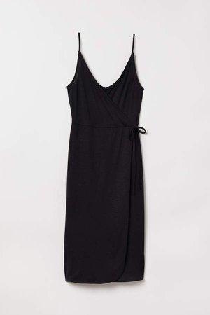 Modal-blend Jersey Dress - Black