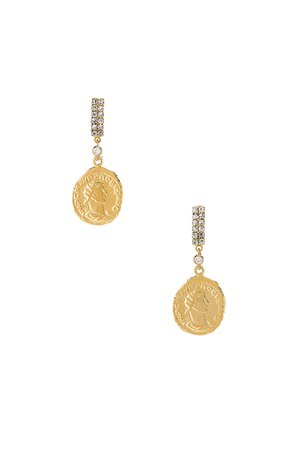 Tribute Coin Earrings