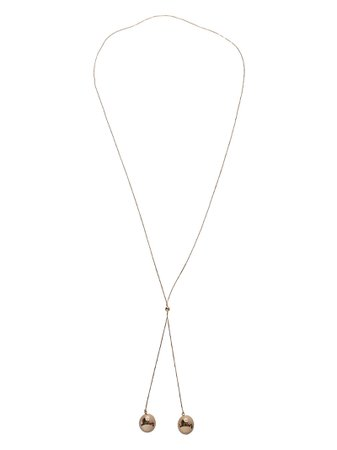 Bottega Veneta Two-bead Necklace