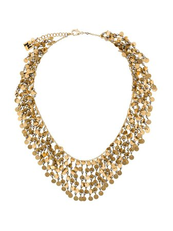 Rosantica Fred chain and sequin necklace