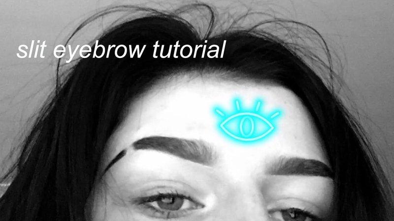 eyebrow slits - Google Search