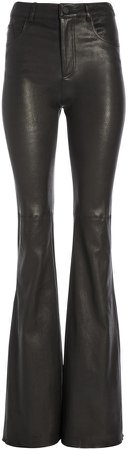 Brent High Waisted Leather Pant