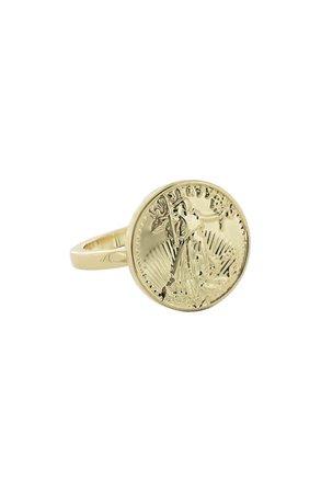 Uncommon James by Kristin Cavallari Gran Sueno Coin Ring