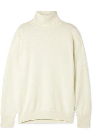 The Row | Janillen oversized cashmere turtleneck sweater | NET-A-PORTER.COM