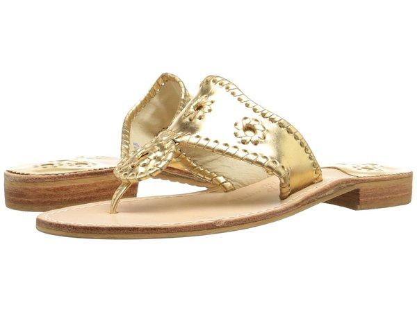 Jack Rogers - Hamptons Classic (Gold) Women's Sandals