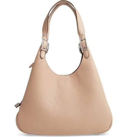 COACH Cass Leather Hobo Bag | Nordstrom