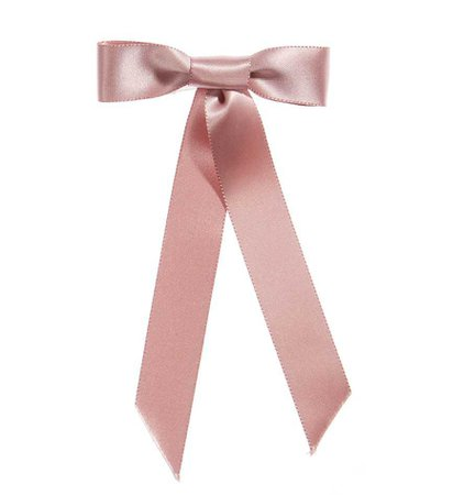 Satin Bow Barrette - The Bow Shop