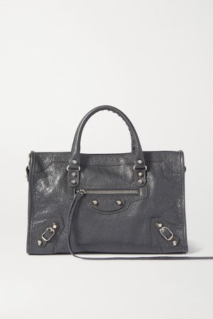 Balenciaga | Classic City small textured-leather tote | NET-A-PORTER.COM