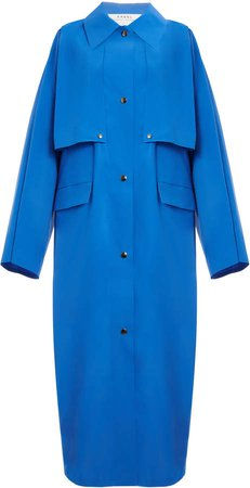 Kassl Coated-Cotton Trench Coat