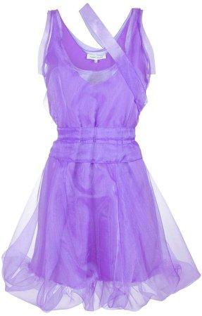Gloria Coelho bell shaped dress