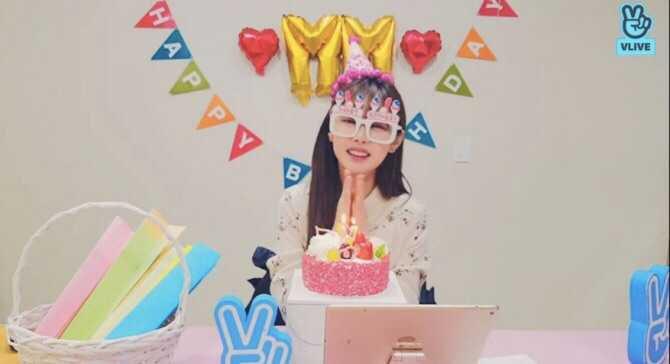 Sunny Birthday Vlive