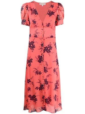 Michael Michael Kors floral-print Chiffon Dress - Farfetch