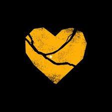 yellow broken heart design clothes - Google Search