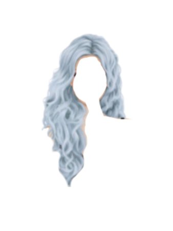 Blue Hair PNG (@bittersweetofficial)