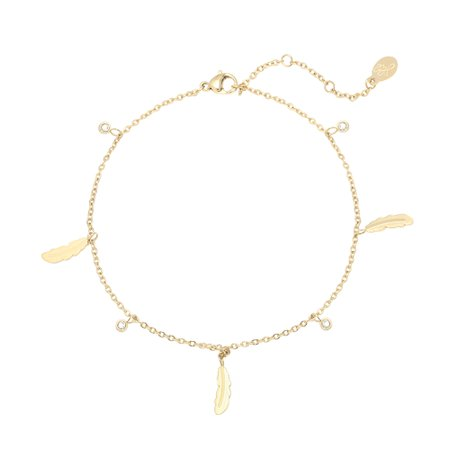 JEWELRY : Yehwang Anklet Cute Feather